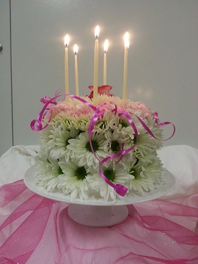 Birthday Cake in The Villages FL, The Villages Florist Inc.