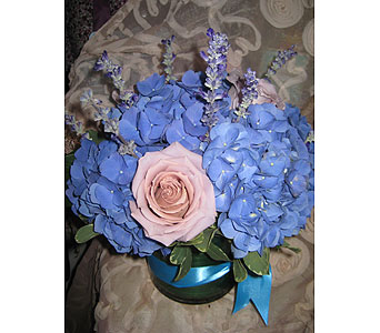 Blue Color Therapy in Massapequa Park NY, Bayview Florist & Montage  1-800-800-7304