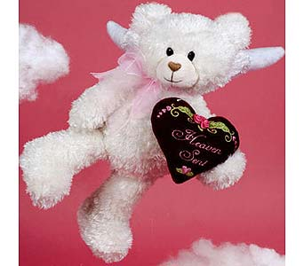 PLUSH149 ''Heaven Sent'' Angel Bear in Oklahoma City OK, Array of Flowers & Gifts