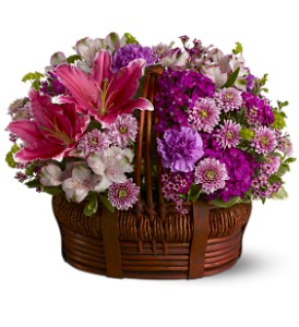 Basket of Bliss in Santa Monica CA, Edelweiss Flower Boutique