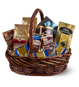 Chocolate & Coffee Basket in Longview TX, The Flower Peddler, Inc.