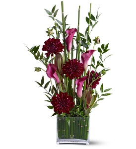 Teleflora's Callas in the Grass in Houston TX, Clear Lake Flowers & Gifts