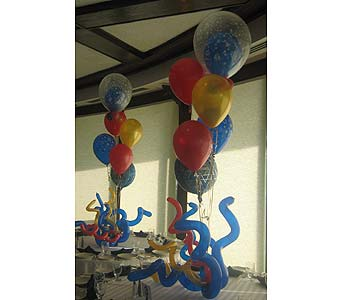 balloon barmitzvah 001 in Huntington NY, Queen Anne Flowers, Inc