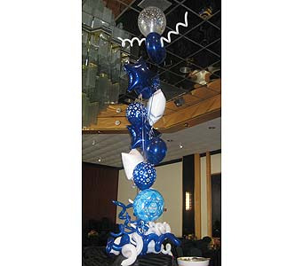 balloon barmitzvah 010 in Huntington NY, Queen Anne Flowers, Inc