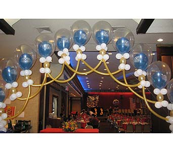 balloon wedding 002 in Huntington NY, Queen Anne Flowers, Inc