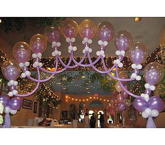 balloon wedding 035 in Huntington NY, Queen Anne Flowers, Inc
