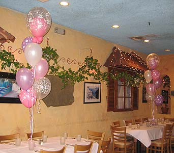 balloon wedding 041 in Huntington NY, Queen Anne Flowers, Inc