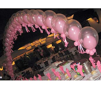 balloon wedding 048 in Huntington NY, Queen Anne Flowers, Inc