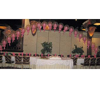 balloon wedding 049 in Huntington NY, Queen Anne Flowers, Inc