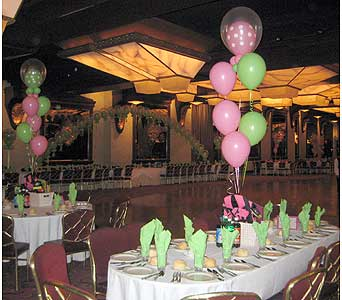 balloon wedding 051 in Huntington NY, Queen Anne Flowers, Inc