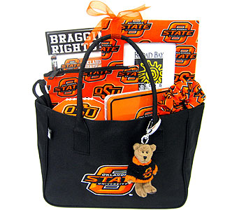 OSU13 ''Purse Full of Pride'' OSU Gift Basket99 in Oklahoma City OK, Array of Flowers & Gifts