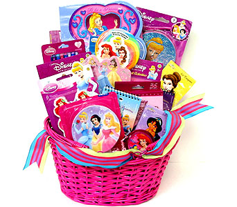 KGB17 ''Disney Princess Basket'' in Oklahoma City OK, Array of Flowers & Gifts