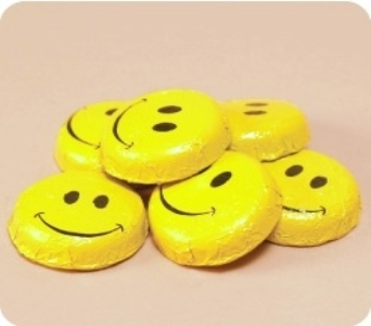 Smiley Face Chocolates in Eden Prairie MN, Belladonna Florist
