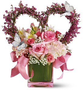 The Enchanted Bouquet by Teleflora in Fort Lauderdale FL, Brigitte's Flower Shop