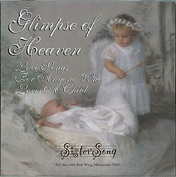 Personalized Lullaby CD by Sister Song in Shoreview MN, Hummingbird Floral