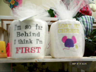 Custom embroidery in Mankato MN, Becky's Floral & Gift Shoppe