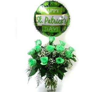 St. Patrick's Celebration in Norristown PA, Plaza Flowers