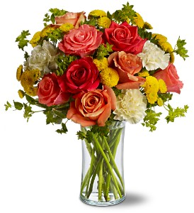 Citrus Kissed in Lewisville TX, D.J. Flowers & Gifts
