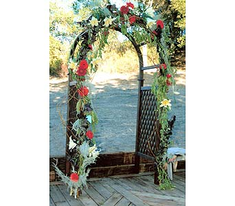 wedding arch in templeton ca adelaide floral