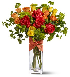 Teleflora's Rambling Rose in Belford NJ, Flower Power Florist & Gifts