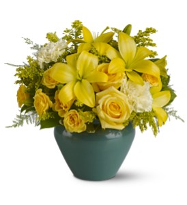 Sunburst Blooms in New York NY, Fellan Florists Floral Galleria