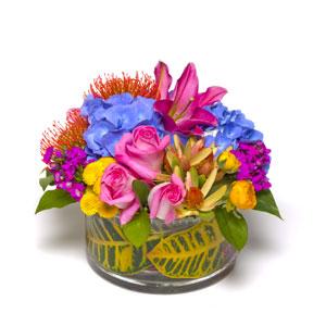 Lily and Rose Arrangements - Centennial Colorado