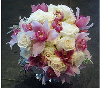 Pink and White Bouquet in Atlanta GA, Buckhead Blooms