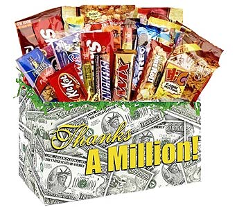 Thanks-A-Million Snack Box in Birmingham AL, Norton's Florist