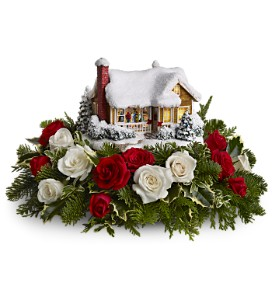 Thomas Kinkade's Childhood Home by Teleflora in Oklahoma City OK, Array of Flowers & Gifts