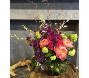 Fancy in Fuschia in Atlanta GA, Buckhead Blooms