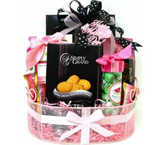 MDGF04 ''Celebrate Mom'' Gourmet Basket in Oklahoma City OK, Array of Flowers & Gifts