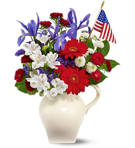 American Spirit Bouquet in Hendersonville TN, Brown's Florist