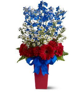Freedom Fireworks Bouquet in Des Moines IA, Doherty's Flowers