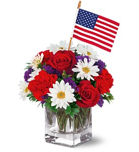 Freedom Bouquet by Teleflora in DeKalb IL, Glidden Campus Florist & Greenhouse