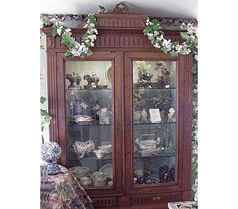 French Curio Cabinet in San Antonio TX, Allen's Flowers & Gifts