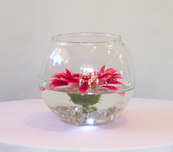 Floating flower centerpiece in kalamazoo mi ambati flowers for Floating flowers in water