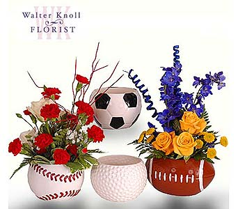 Have a Ball, Sports Theme Arrangements in St. Louis MO, Walter Knoll Florist