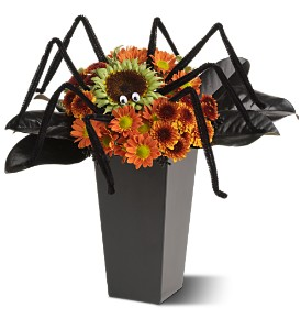 Spooktacular Spider in Dover NJ, Victor's Flowers & Gifts