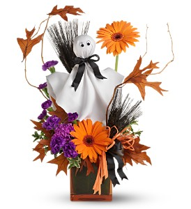 Teleflora's Ghostly Greetings in Dearborn MI, Fisher's Flower Shop