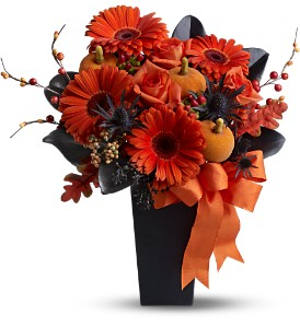 Jack-O'-Lantern Blooms in Dover NJ, Victor's Flowers & Gifts