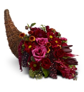 Crimson Cornucopia in Henderson NV, Beautiful Bouquet Florist