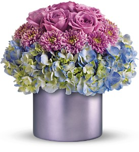 Teleflora's Lovely in Lavender in Santa Monica CA, Edelweiss Flower Boutique
