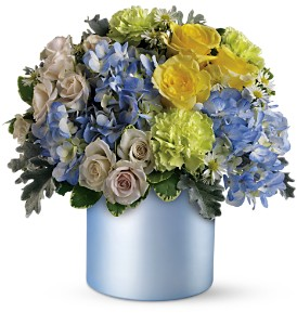 Teleflora's Heavenly Hues Bouquet in Kennebunk ME, Blooms & Heirlooms ��