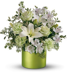Teleflora's Sea Spray Bouquet in Muskegon MI, Barry's Flower Shop