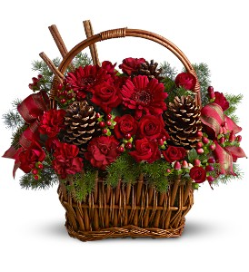 Holiday Spice Basket in Summit & Cranford NJ, Rekemeier's Flower Shops, Inc.