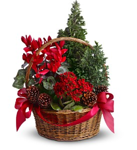 Tannenbaum Basket in Kentfield CA, Paradise Flowers