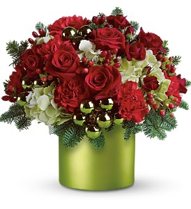 Teleflora's Holiday in Style in Olean NY, Uptown Florist
