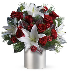Teleflora's Lilies and Roses in New Rochelle NY, Flowers By Sutton