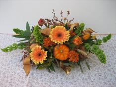 Festive Fall Table Arrangement in Yorba Linda CA, Garden Gate