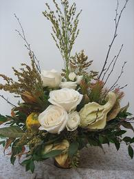 Cream Autumn Bouquet in Yorba Linda CA, Garden Gate